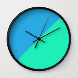 Minimalism Blue Wall Clock