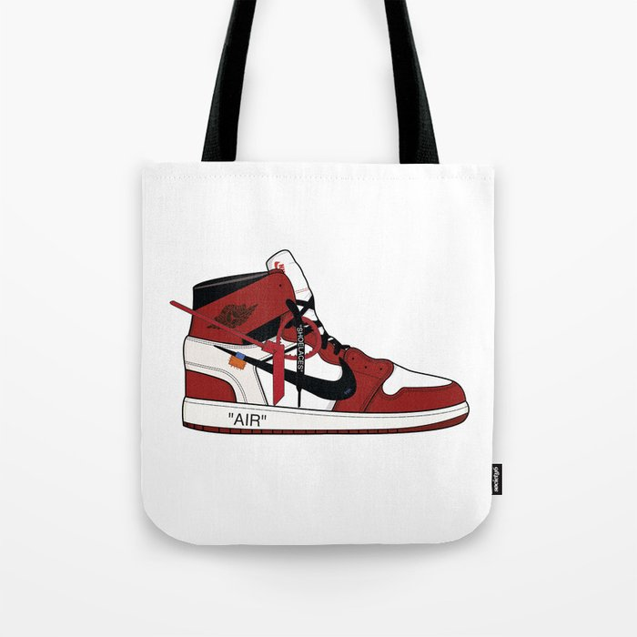 Jordan I x Off White Tote Bag