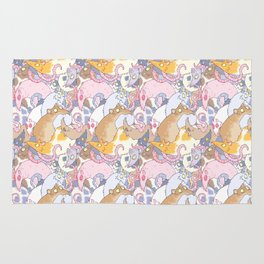 Fancy Rat Pattern Rug