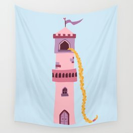 rapunzel's braid Wall Tapestry