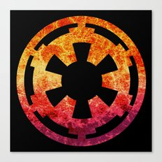 Star Wars Imperial Explosion Canvas Print