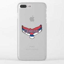 Serbia Орлови (The Eagles) ~Group E~ Clear iPhone Case