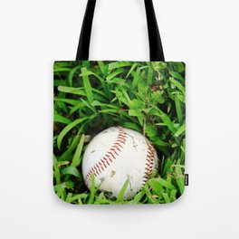 The Lost Baseball Tote Bag