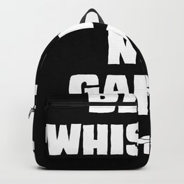 Blow Whistles Not Games Tshirt Backpack