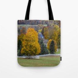 Family Homestead Tote Bag