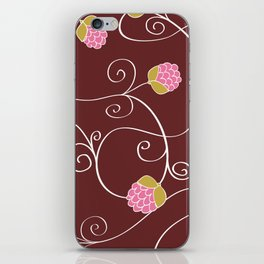 Raspberry Patch Red iPhone Skin