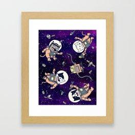 CatStronauts Framed Art Print