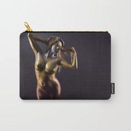 Golden Veins - Glitter Series Carry-All Pouch