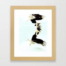Push Framed Art Print
