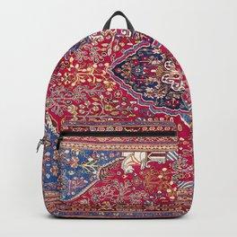 Qashqa'i  Antique Fars Persian Rug Backpack
