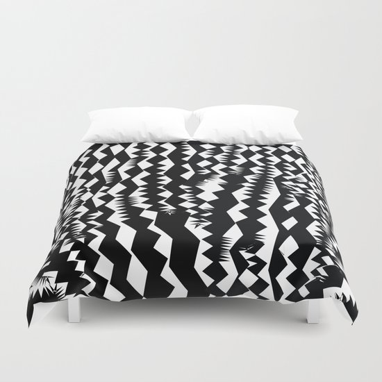 Still Zebra Duvet Cover