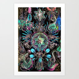 Nifty by Nature Art Print