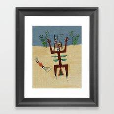 Healing Ceremony Framed Art Print