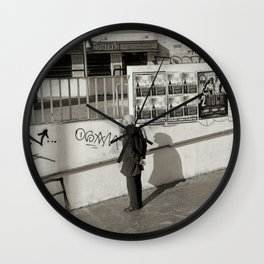 To MUCH Wall Clock