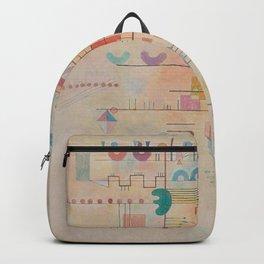Wassily Kandinsky - Graceful Ascent Backpack