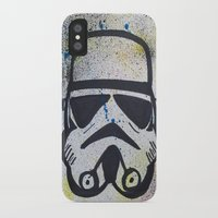 trooper iPhone & iPod Cases featuring Trooper by Cyndi Sabido