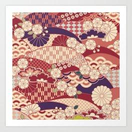 Chiyogami Art Print