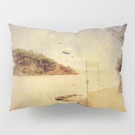 The path that hugs the beach Pillow Sham