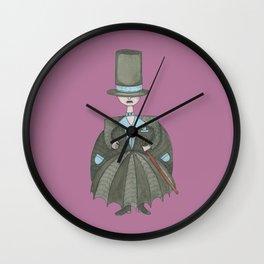 Clémenceau le Chapelier Wall Clock
