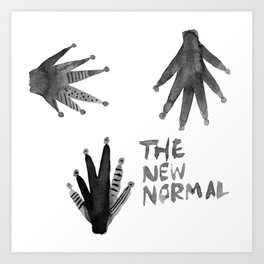 The New Normal Art Print