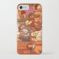 grantaire iPhone & iPod Cases featuring Les Misérables: A Group Which Almost Became Historic by batcii