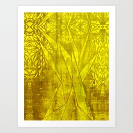 Triangular Tree Art Print