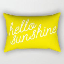 Hello Sunshine Script Rectangular Pillow