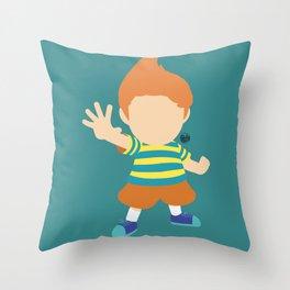 Lucas(Smash)Claus Throw Pillow