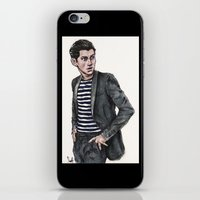alex turner iPhone & iPod Skins featuring Alex Turner  by vooce & kat