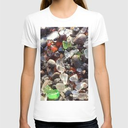 Glass beach California T-shirt