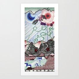 Global Growth Media Pt. I Art Print