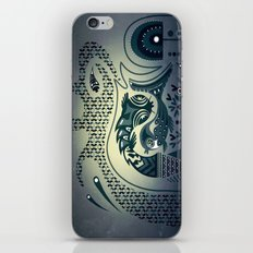 Midnight swirls iPhone & iPod Skin