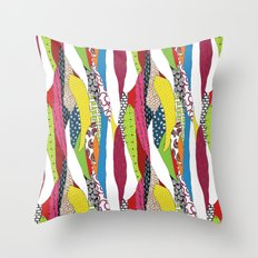Patchwork pattern Throw Pillow