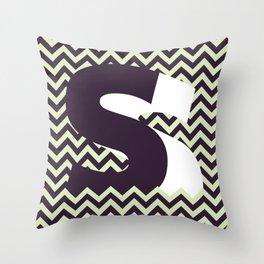 S. Throw Pillow