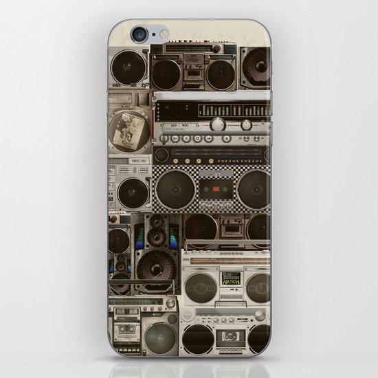 Wall Of Sound iPhone & iPod Skin