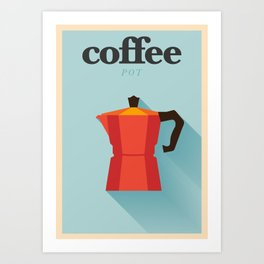 Minimal Coffee Poster Art Print