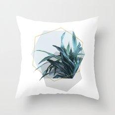 Geometric Jungle Throw Pillow