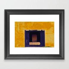 Emperor's yellow house Framed Art Print
