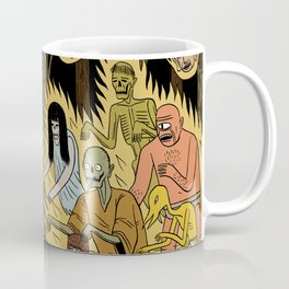 The Woodland Ghosts Coffee Mug