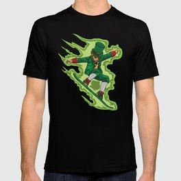 Snowboard Leprechaun - Irish Winter Sports T-shirt