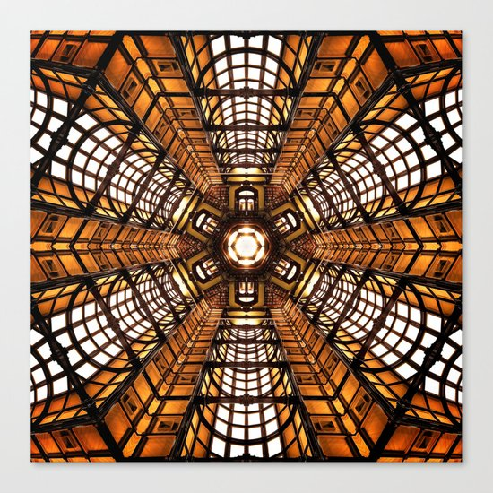 Chamber of Gold Canvas Print