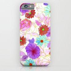 Oriental blossom iPhone 6s Slim Case