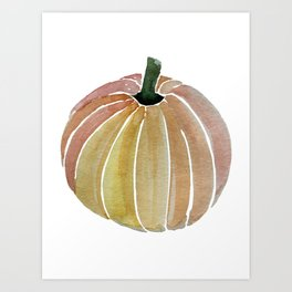 Fall Pumpkin Art Print
