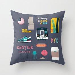 NYC Throw Pillow