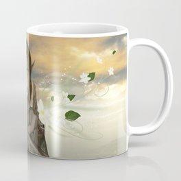 Fairy with flowers Coffee Mug
