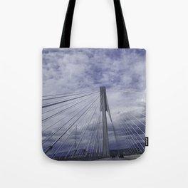 Port Mann Bridge Vancouver BC Tote Bag