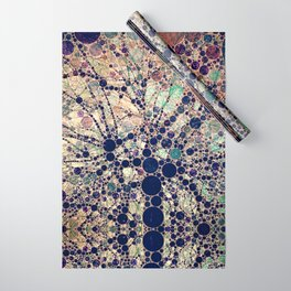 Colorful tree loves you and me. Wrapping Paper