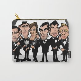Faces of Bond Carry-All Pouch