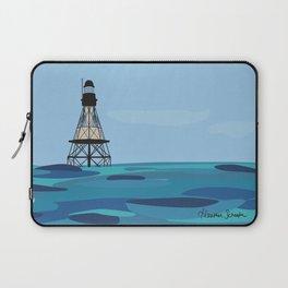 Fowey Rocks Lighthouse Laptop Sleeve