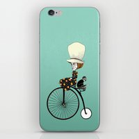 back to the future iPhone & iPod Skins featuring Back to the Future by Schwimmt im Pool